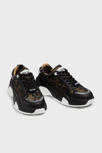 Versace Jeans Couture Erkek Ayakkabı E0YWASF9 71970 M27 SİYAH