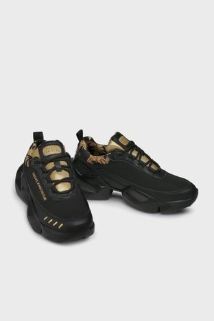 Versace Jeans Couture - Versace Jeans Couture Erkek Ayakkabı E0YWASU5 71924 M27 SİYAH (1)