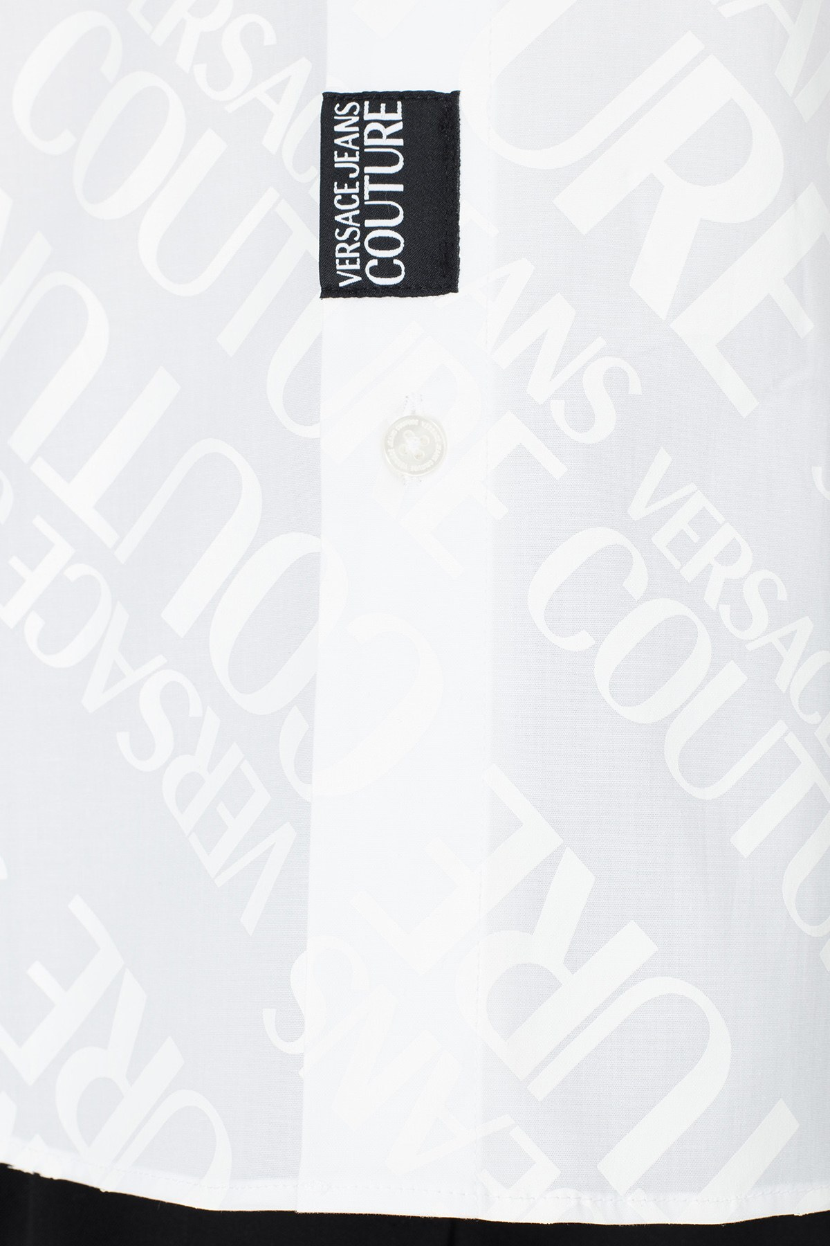 Versace Jeans Couture Slim Fit Erkek Gömlek B1GVB6S1 30205 003 BEYAZ