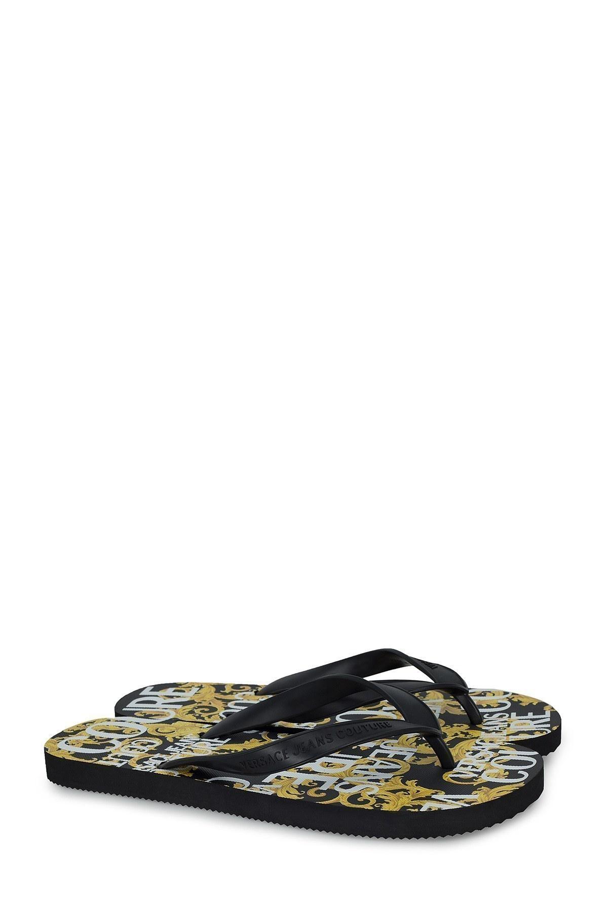 Versace Jeans Couture Terlilk Erkek Terlik E0YVBSQ8 71404 899 SİYAH