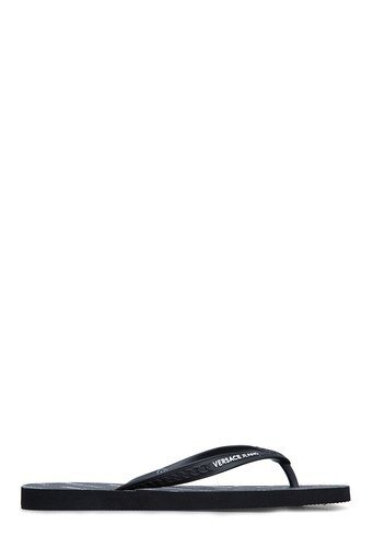 Versace Jeans Erkek Terlik E0YTBSQ1 70982 899 SİYAH