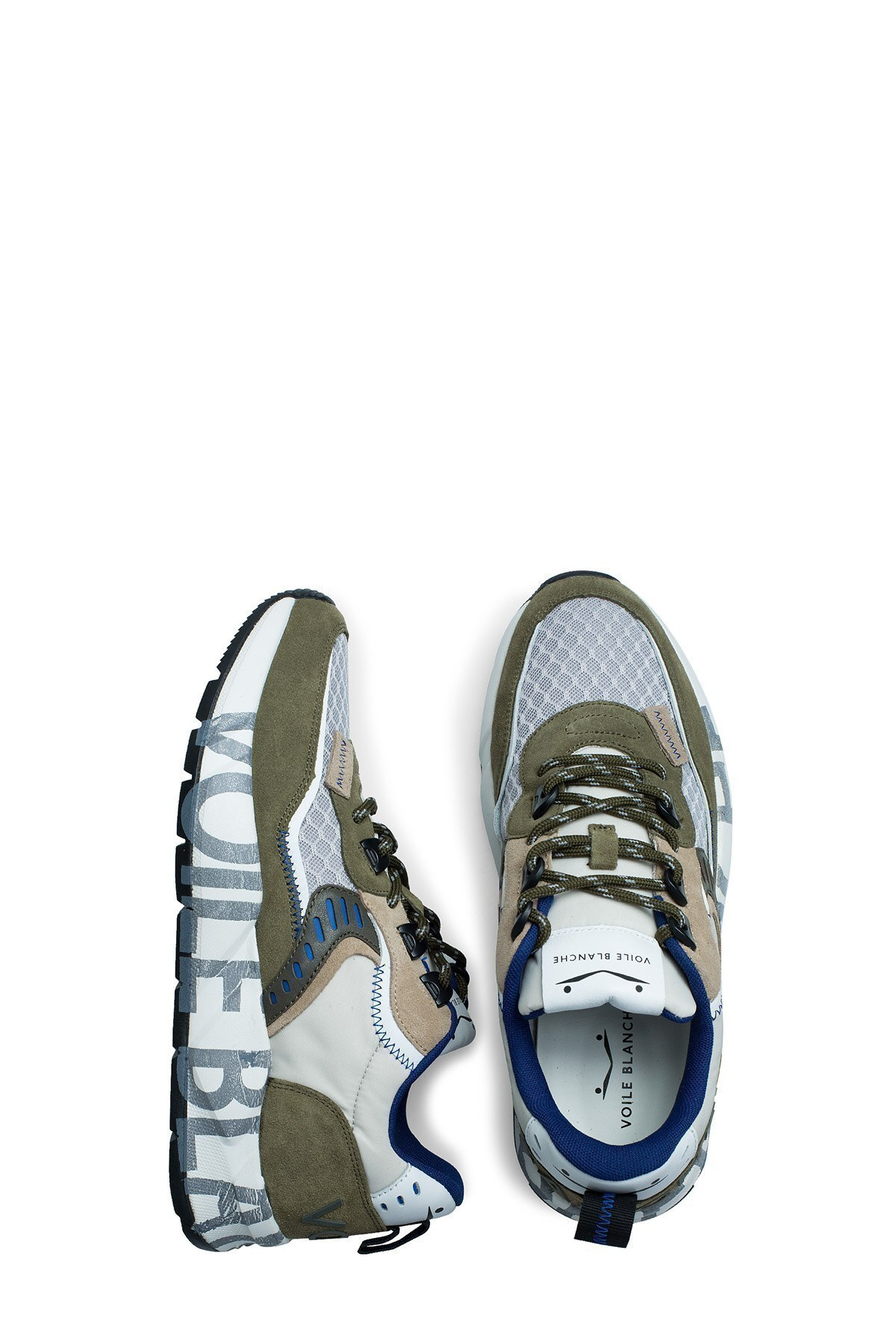 Voile Blanche Erkek Ayakkabı 0012014828.01.1F26 BEYAZ-HAKİ