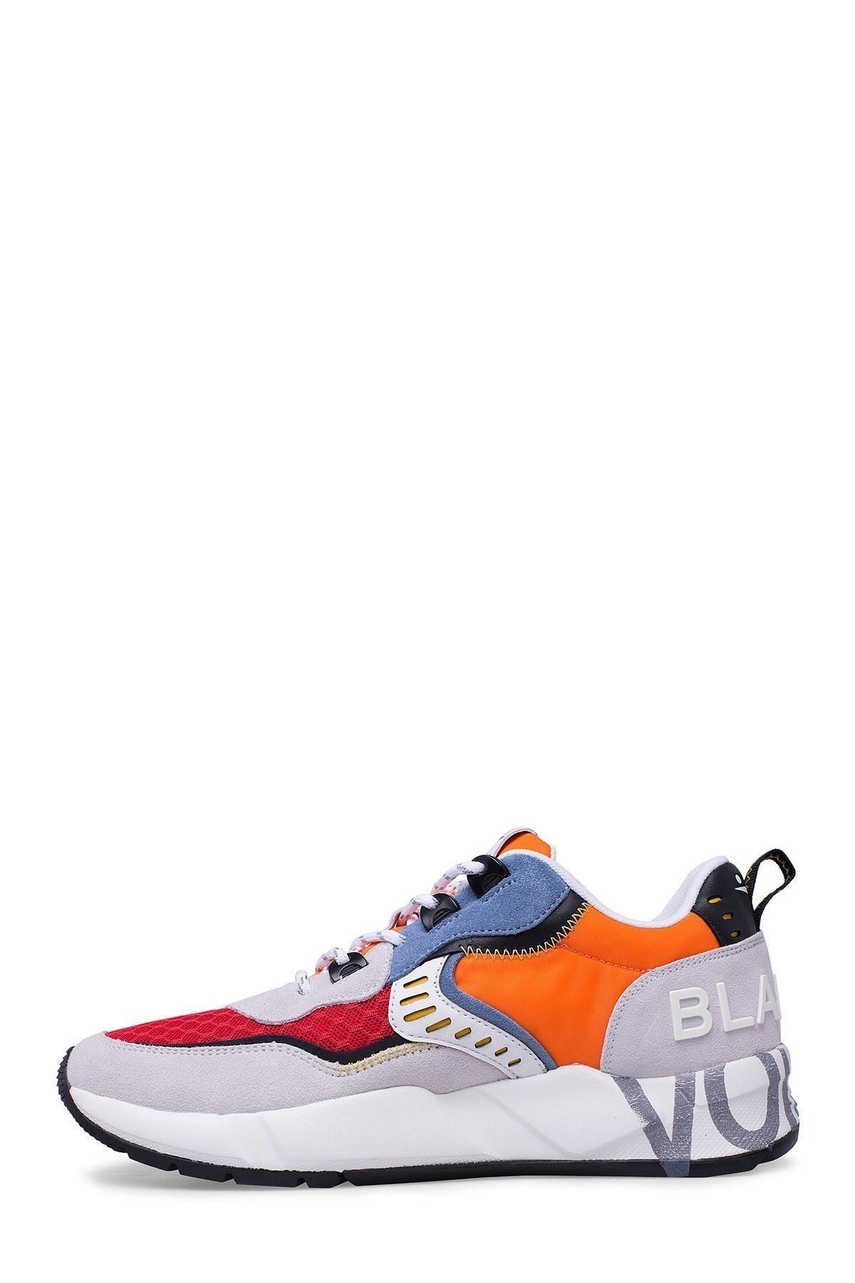 Voile Blanche Erkek Ayakkabı 0012014828.01.1N10 BEYAZ-KIRMIZI