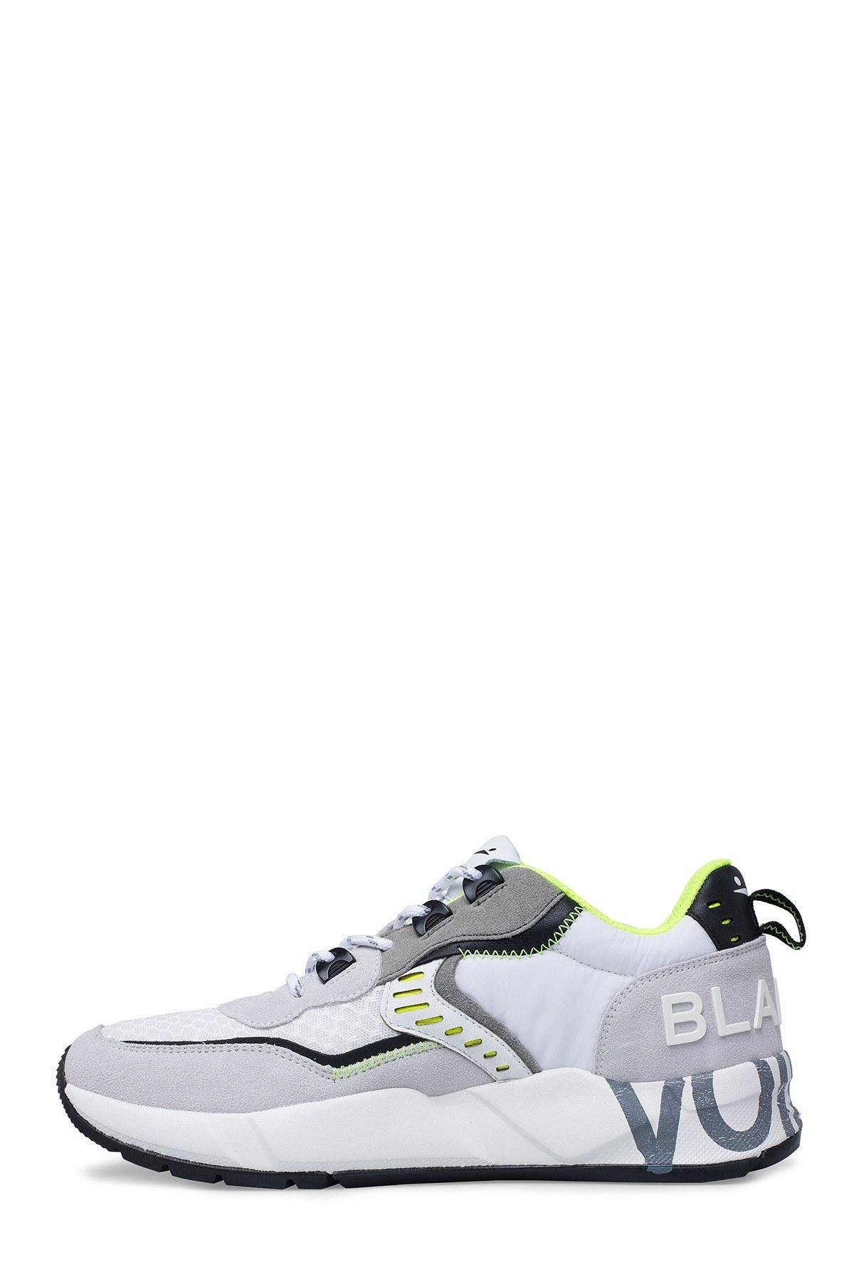 Voile Blanche Erkek Ayakkabı 0012014828.01.1N40 BEYAZ-GRİ